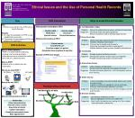 Ethical Issues and the Use of Personal Health Records