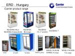 Carrier product range