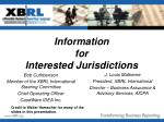 Information for Interested Jurisdictions