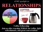 AUMC spotlight on RELATIONSHIPS