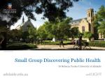 Small Group Discovering Public Health