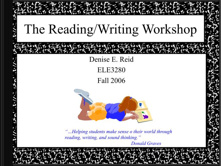 the reading writing workshop n.