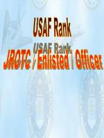 USAF Rank JROTC / Enlisted / Officer