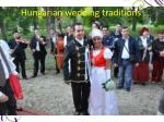 Hungarian wedding traditions