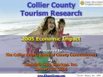 Collier County Tourism Research