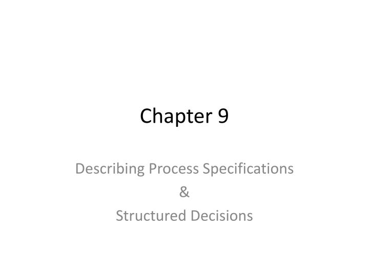 PPT Chapter 9 PowerPoint Presentation ID 5729521