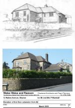 Wales Wales and Rawson       Chartered Architects and Town Planners