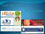Your Questions…