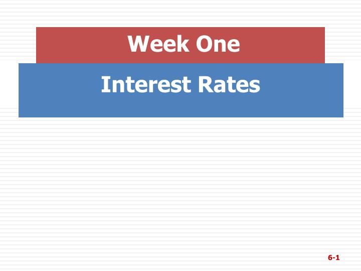 interest rates n.