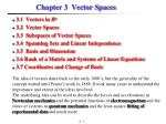 Chapter 3   Vector Spaces