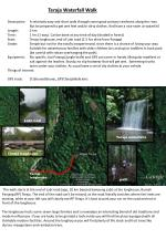 Teraja Waterfall Walk