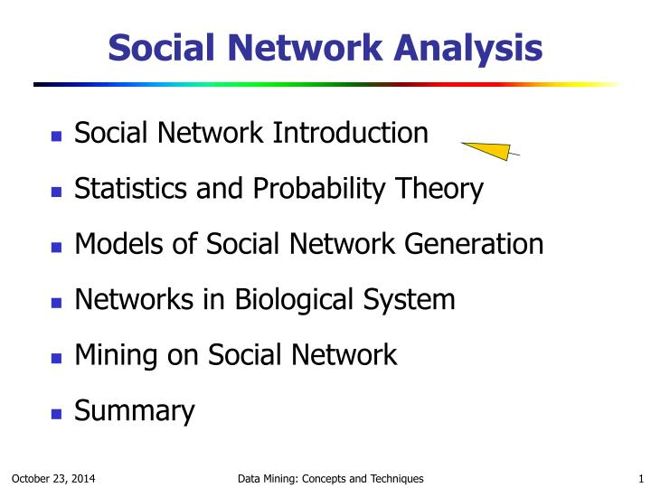 social network analysis n.