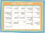 JUNE IS FINALLY HERE!