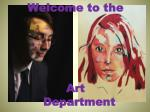 Welcome to the Art Department