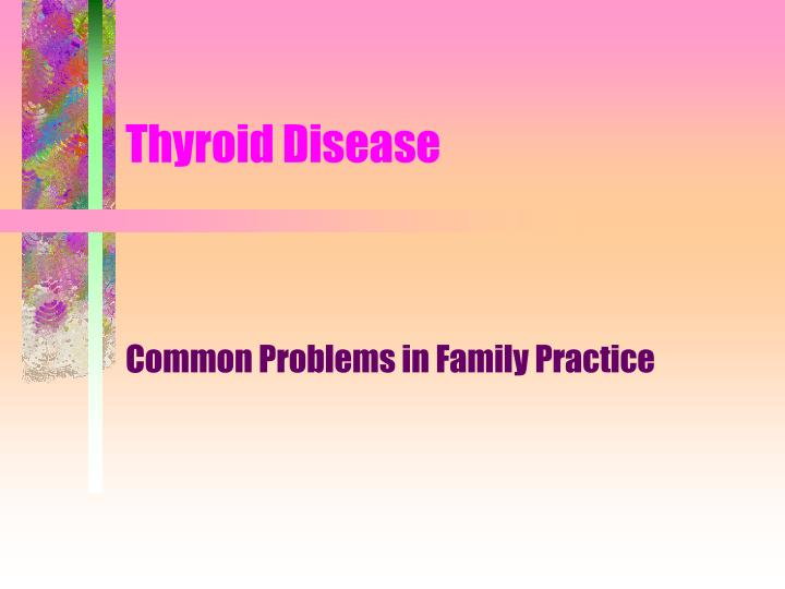 thyroid disease n.