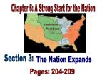 Chapter 6: A Strong Start for the Nation