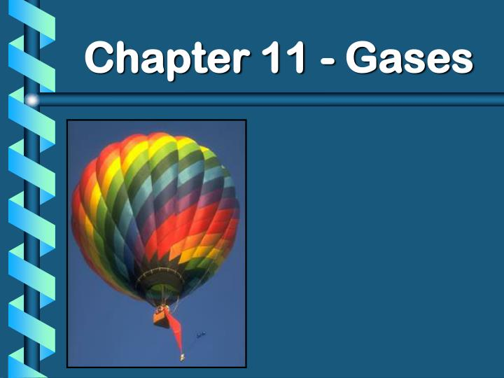 chapter 11 gases n.
