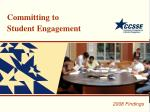 Committing to Student Engagement