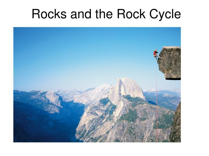 rocks and the rock cycle n.