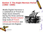 Section Ⅱ The Anglo-Norman Period (1066 ~ 1500)