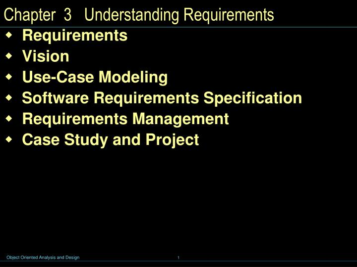 chapter 3 understanding requirements n.