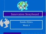 Innovation Storyboard