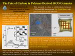 The Fate of Carbon in Polymer-Derived SiCO Ceramics
