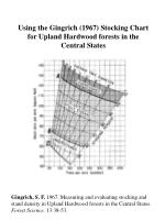 Using the Gingrich (1967) Stocking Chart for Upland Hardwood forests in the Central States