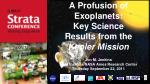 A Profusion of Exoplanets: Key Science Results from the  Kepler Mission