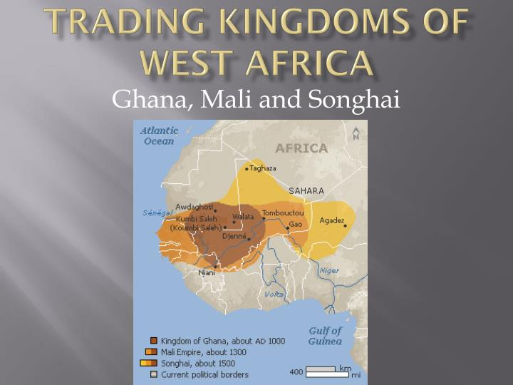 trading kingdoms of west africa n.