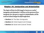 Chapter 14: Immigration and Urbanization