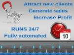 Attract new clients Generate sales Increase Profit