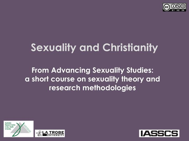 sexuality and christianity n.