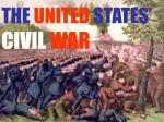 THE  UNITED  STATES' CIVIL  WAR