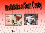 The Statistics of Sean Casey