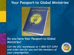 Your Passport to Global Ministries