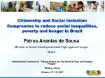 Citizenship and Social Inclusion: