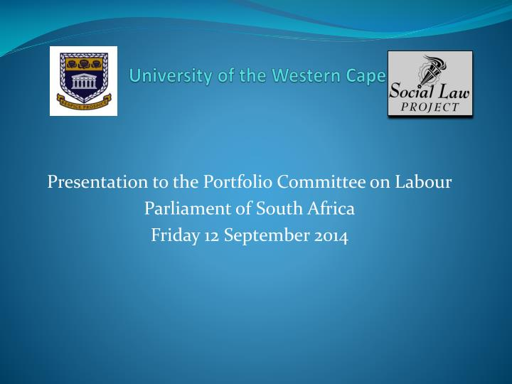 university of the western cape n.