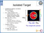 Isolated Target