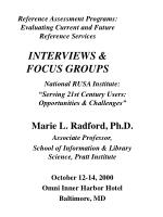 """National RUSA Institute:  """"Serving 21st Century Users: Opportunities & Challenges"""""""