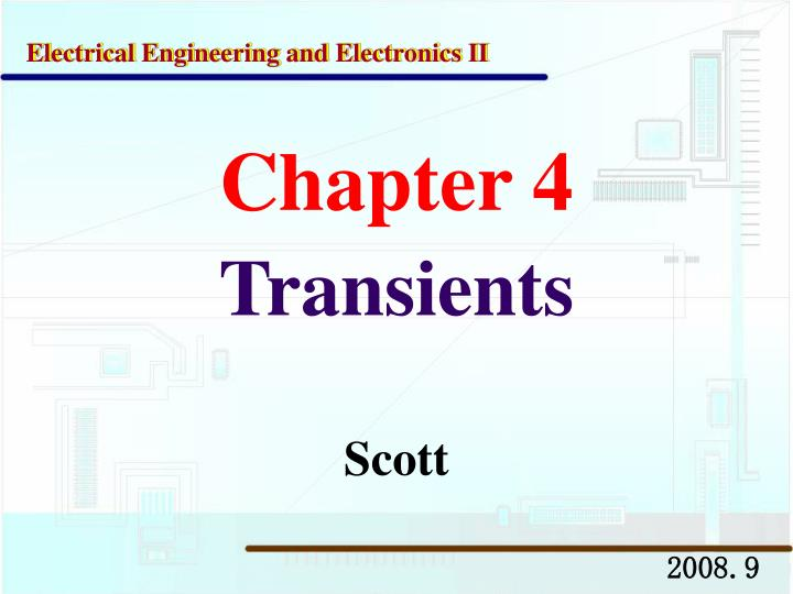 chapter 4 transients n.
