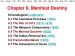 Chapter 6. Manifest Destiny