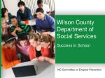 Wilson County Department of Social Services