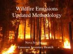Wildfire Emissions Updated Methodology