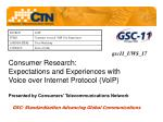 GSC: Standardization Advancing Global Communications