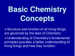 Basic Chemistry Concepts