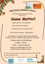 PSS Post Natal Depression Project Invite you to:-