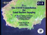 The CEOS Constellations Concept