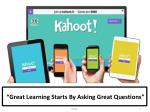 """Great Learning Starts By Asking Great Questions"""
