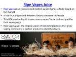 Ripe Vapes Is Now At DC Vapor